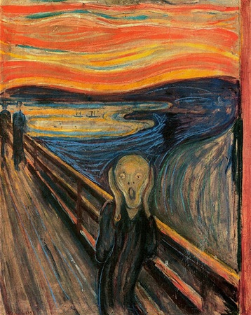 The Scream - Edvard_Munch